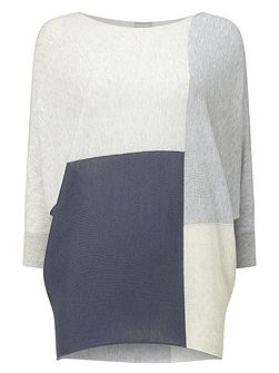 Colour Block Becca Batwing Jumper