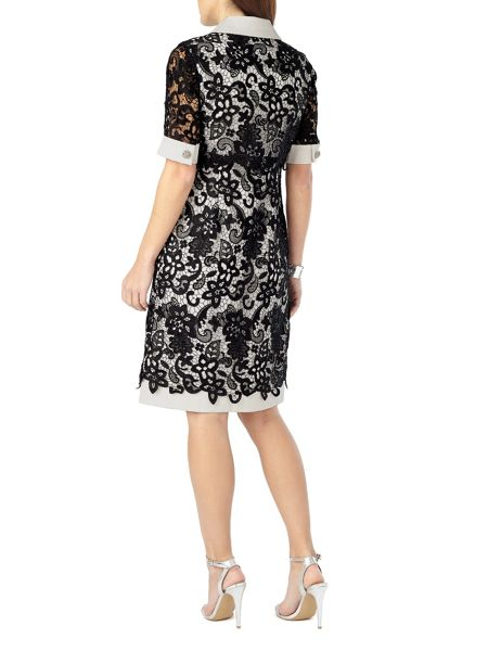 Phase Eight Vanna Lace Shirt Dress
