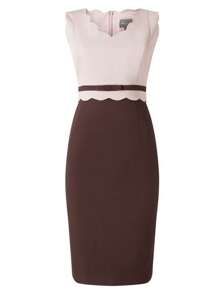 Phase Eight Florence Scallop Dress