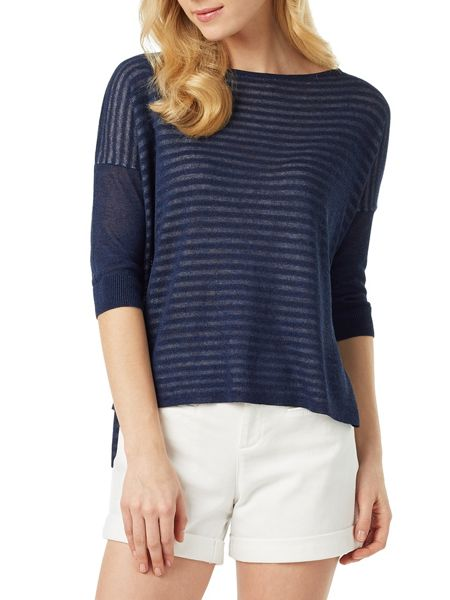 Phase Eight Sancia Subtle Stripe Knit Jumper