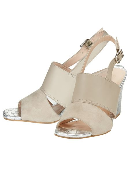 Phase Eight Eve Block Heel Sandals
