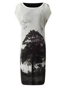 Phase Eight Carlotta Tree Print Dress