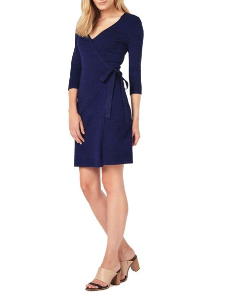 Phase Eight Catarine Wrap Knit Dress