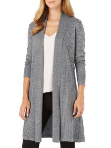 Phase Eight Marl Lili Longline Cardigan