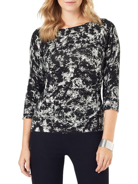Phase Eight Marea Marble Print Knit Jumper