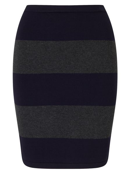 Phase Eight Lia Rugby Stripe Skirt