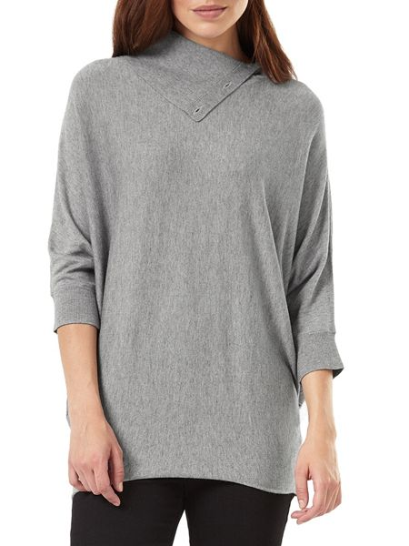 Phase Eight Split Neck Becca Batwing Knit Jumper