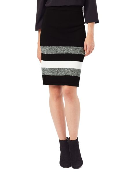 Phase Eight Aida Stripe Hem Skirt