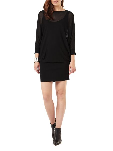 Phase Eight Sheer Becca Batwing Dress