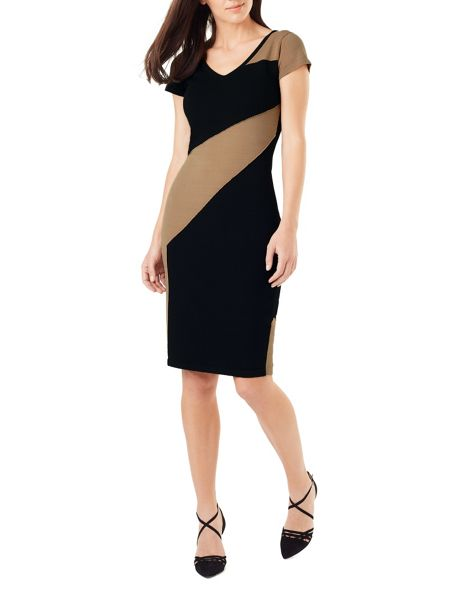Phase Eight Clariss Block Knit Dress