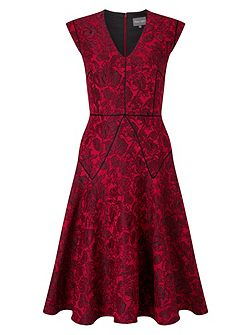 Amelie Jacquard Dress