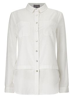 Verity White Shirt