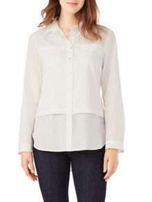 Phase Eight Verity White Shirt