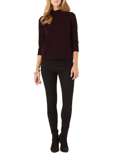 Phase Eight Arabela Split Neck Knit Jumper
