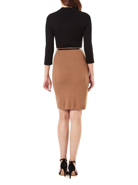 Phase Eight Abbey Belted Colour Block Dress