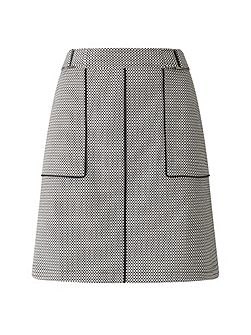 Lillie Geo Piped Skirt