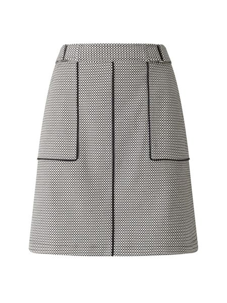 Phase Eight Lillie Geo Piped Skirt