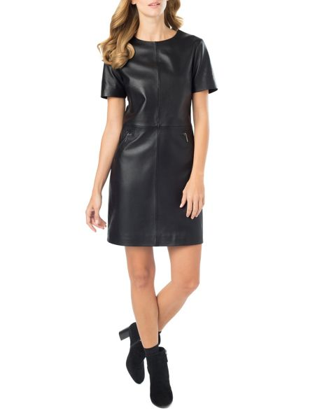 Phase Eight Lucie Leather Dress