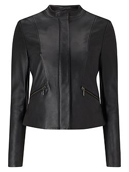 Michelle Leather Jacket