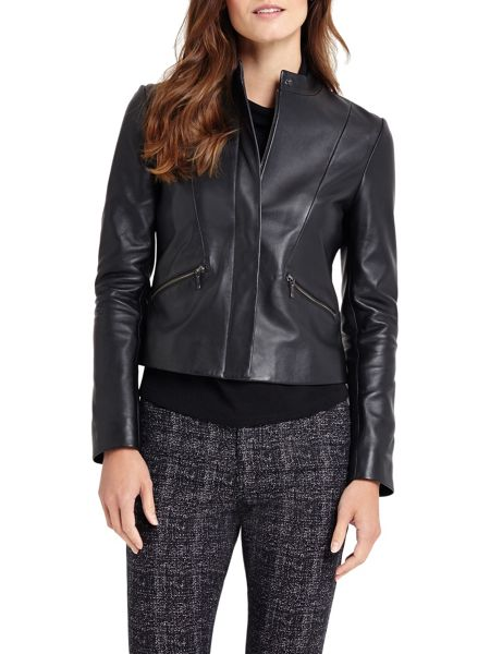 Phase Eight Michelle Leather Jacket