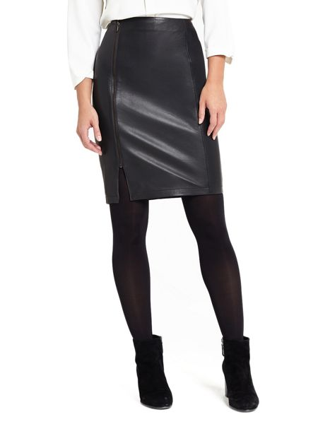 Phase Eight Carly Leather Skirt