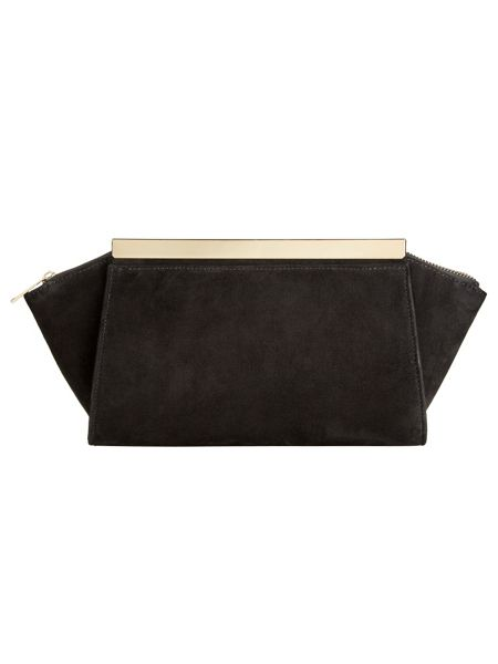 Phase Eight Ella Suede Clutch Bag