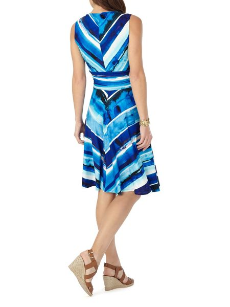 Phase Eight Painterly Stripe Dress