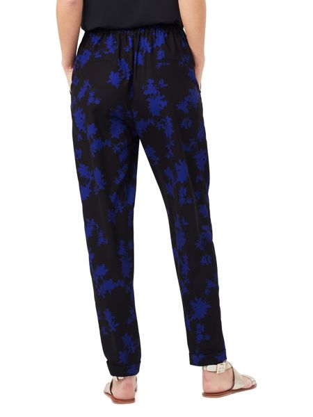 Phase Eight Sacha Oriental Print Soft Trousers