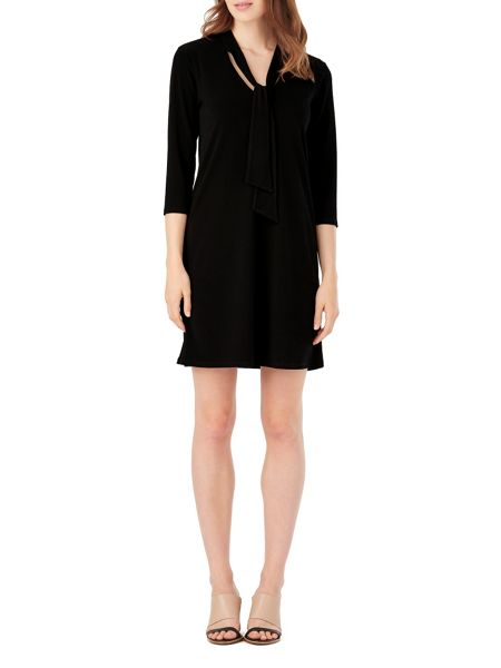 Phase Eight Tori Tie Neck Dress