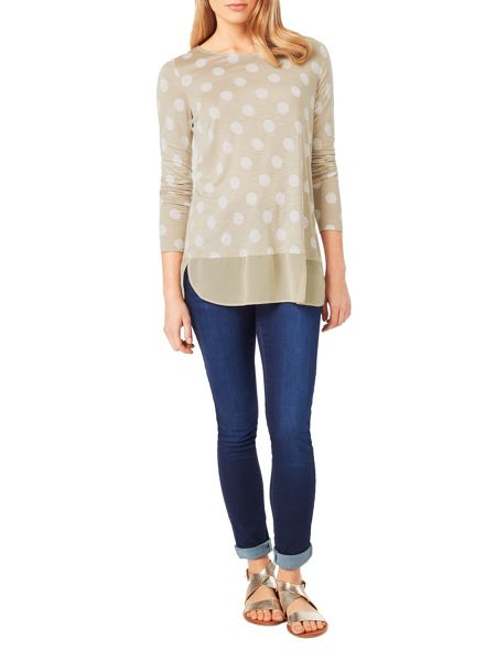 Phase Eight Kelly Spot Top