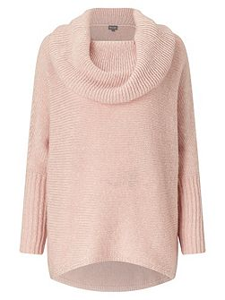 Chunky Lila Cowl Knitted Jumper