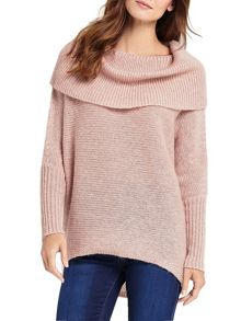 Phase Eight Chunky Lila Cowl Knitted Jumper