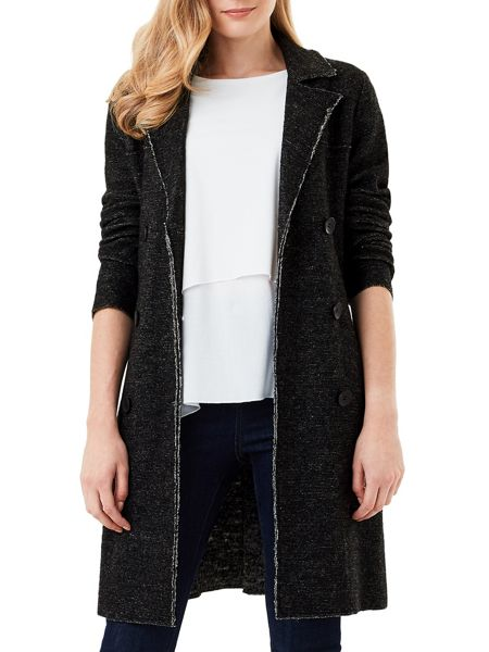 Phase Eight Trista Boiled Wool Trench Coat