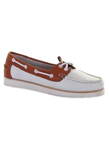 Josie wedge boat shoes