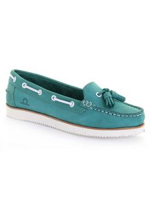 Jessa tassel boat shoes