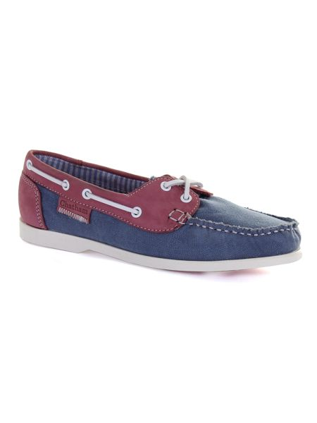 Chatham Holly canvas boat shoes