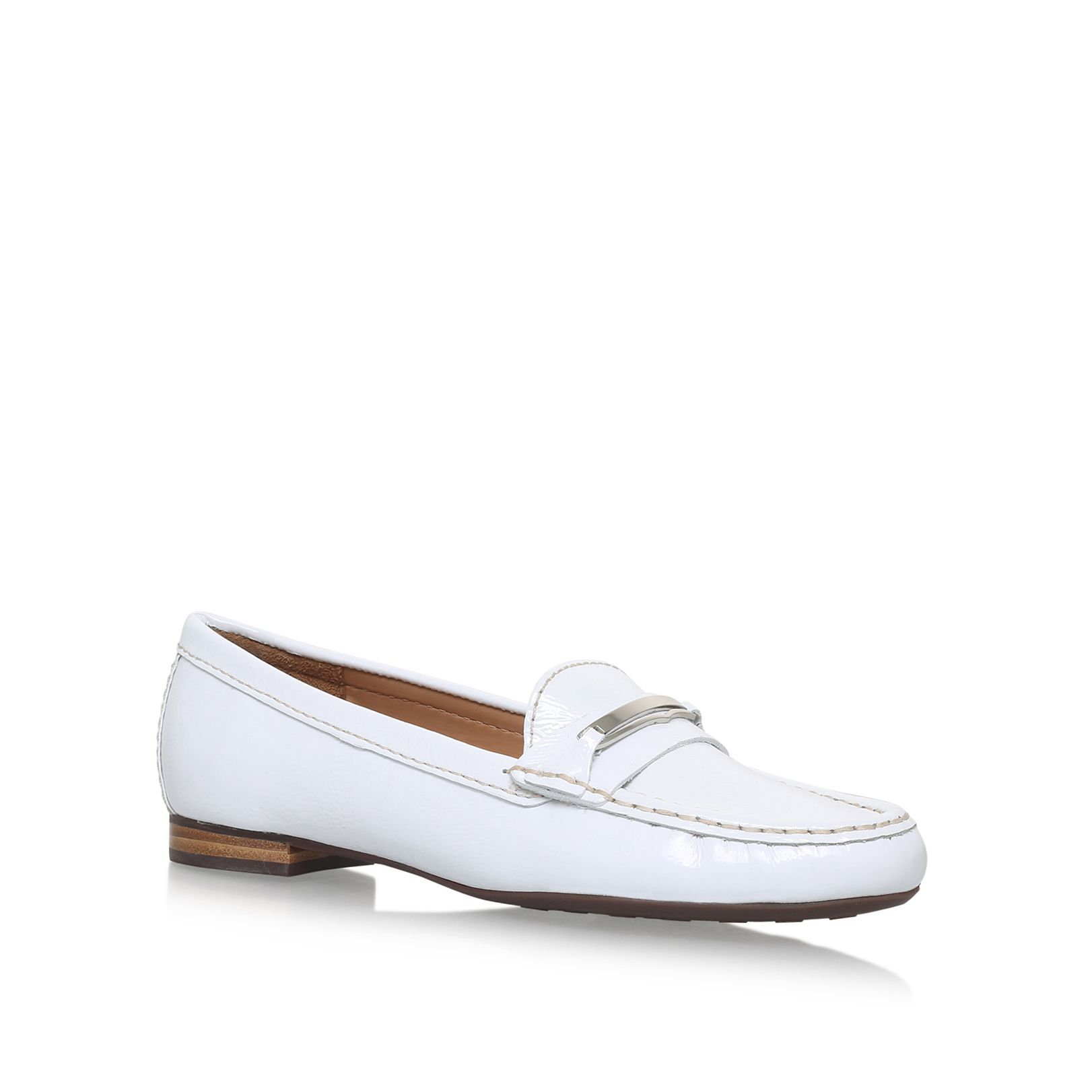 Carvela Comfort Charlotte slip on loafers, White