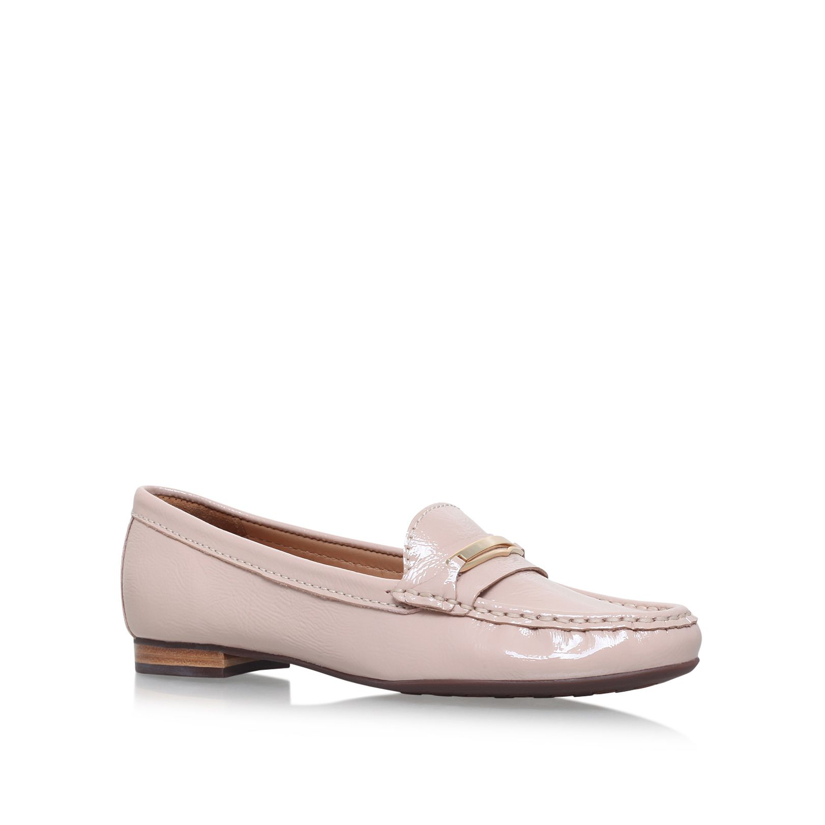 Carvela Comfort Charlotte slip on loafers, Nude
