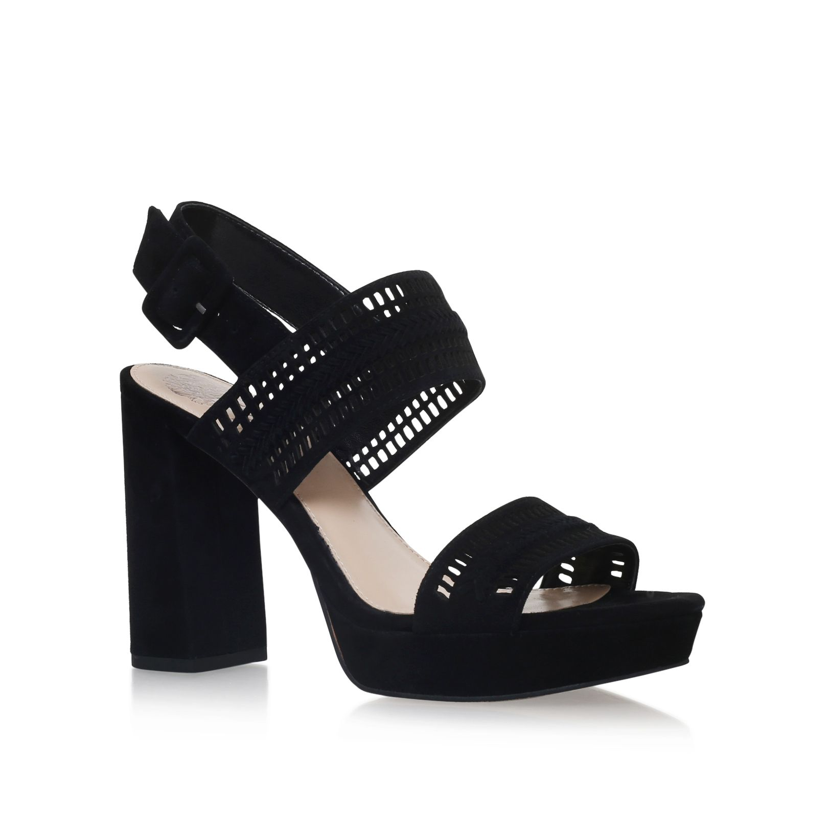 Vince Camuto Jazelle high heel sandals, Black