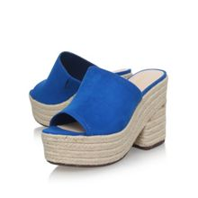 Nine West Skyrocket espadrille mules