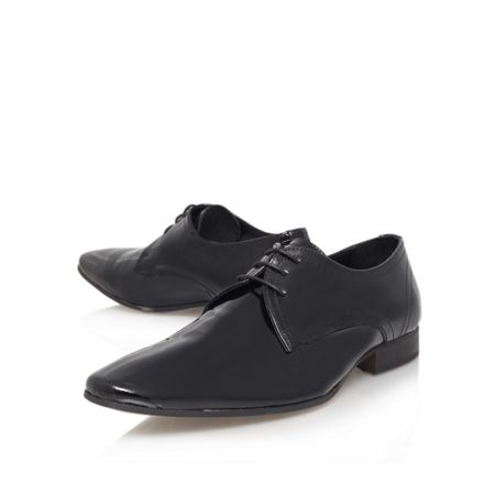 KG Anton patent leather lace up shoe