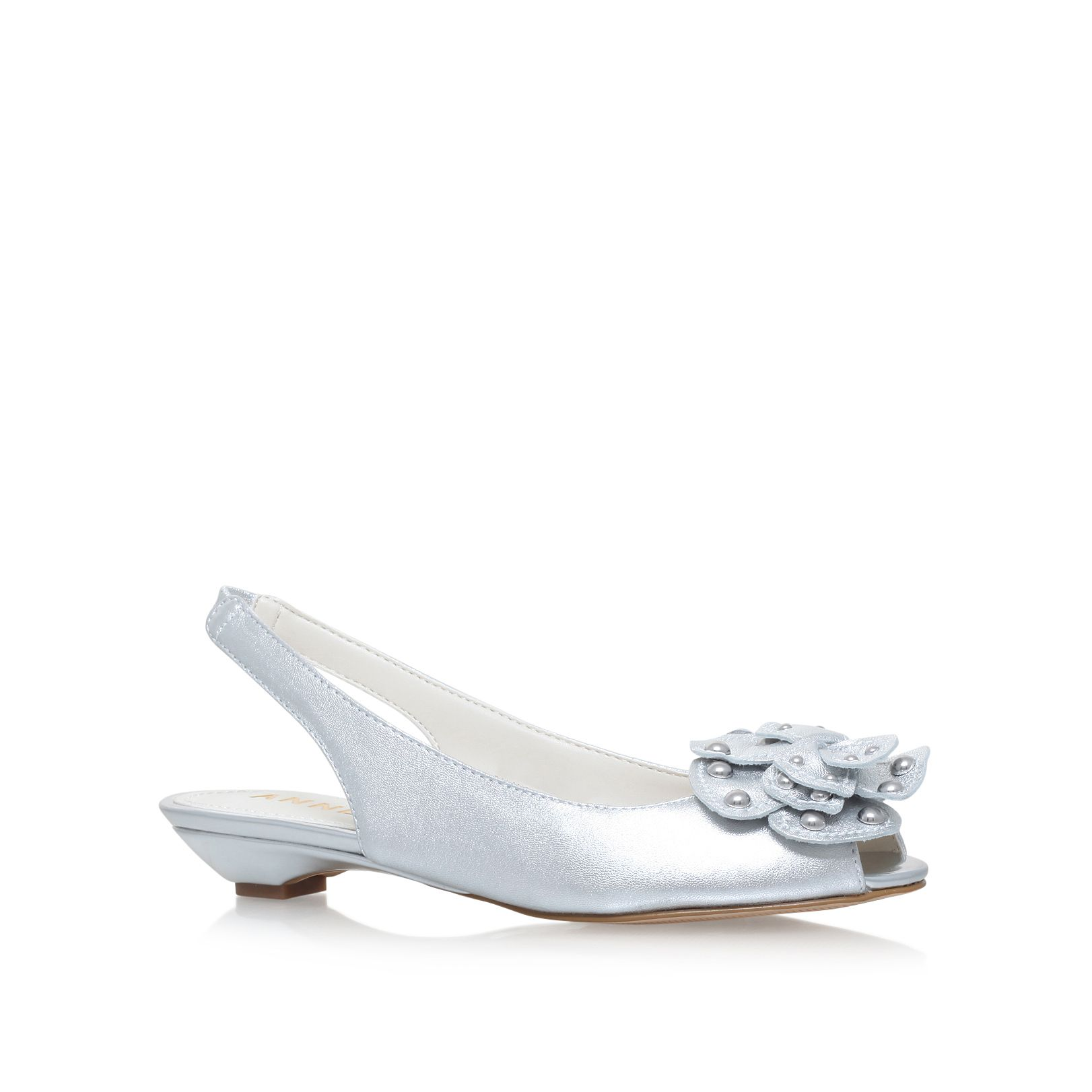 Click to view product details and reviews for Anne Klein Farrah Courts Silver.
