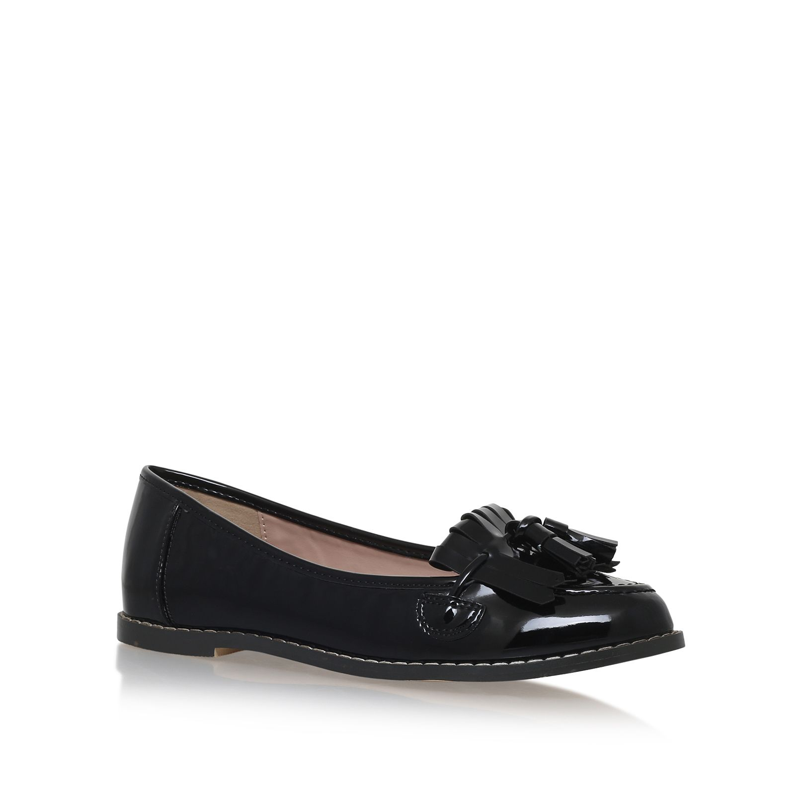 Carvela black loafer shoes house of fraser for Housse of fraser