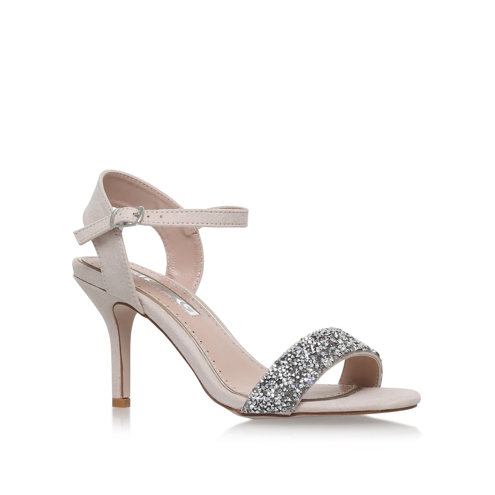 Miss KG Blossom sandals, Nude