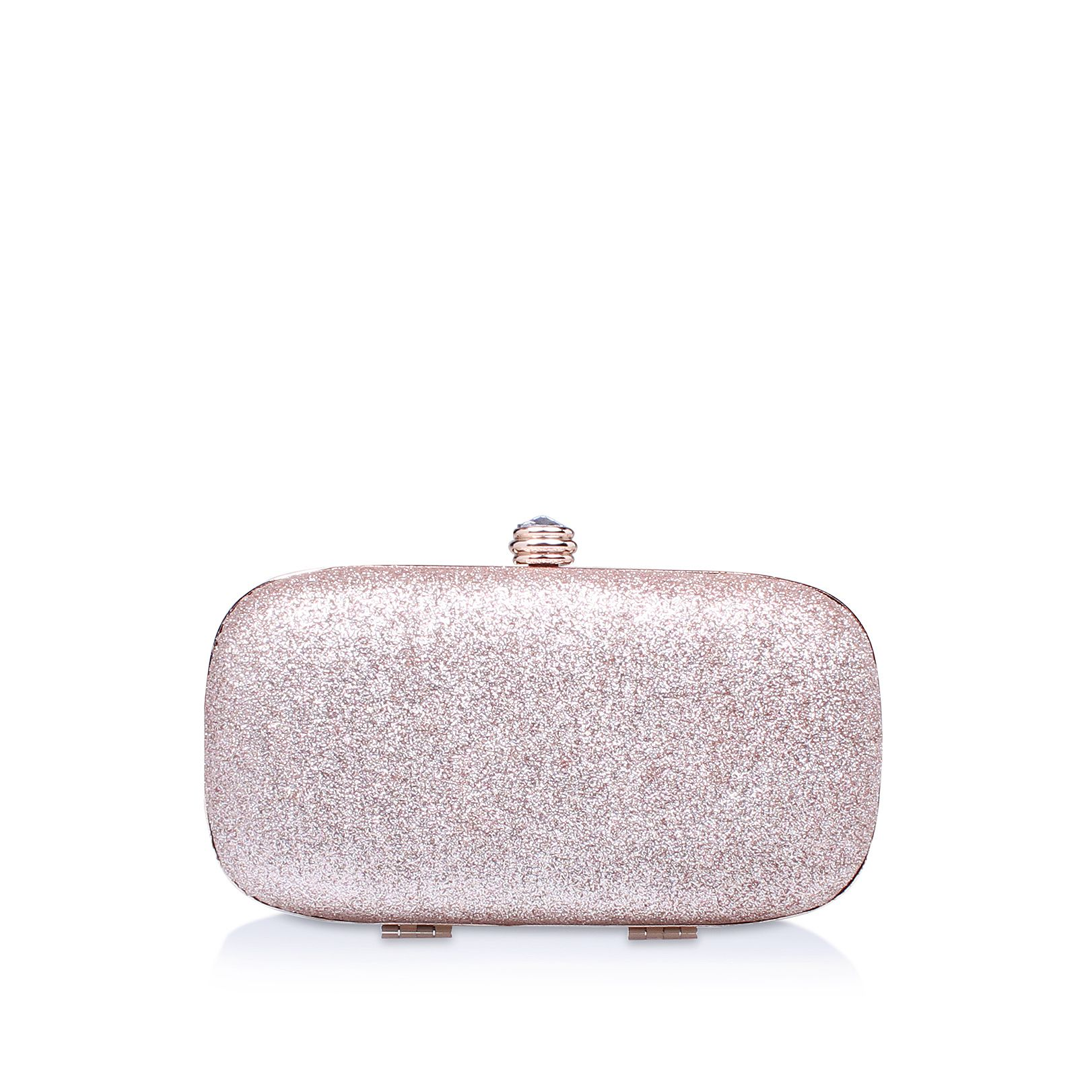 Carvela Darling 2 clutch bag, Silverlic