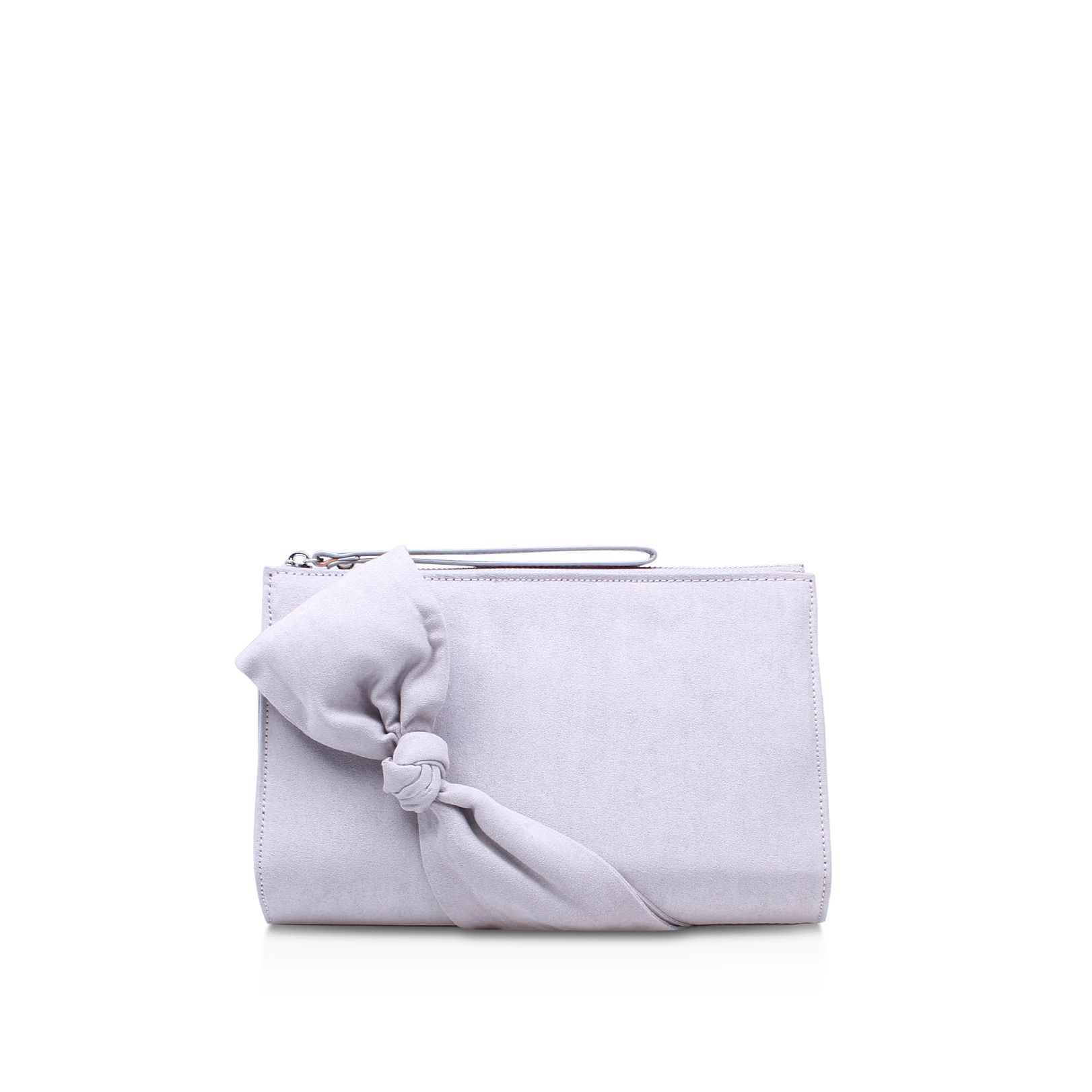 Carvela Dame clutch bag, Grey