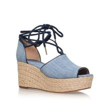 Michael Kors Hasting mid wedge sandals