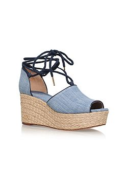 Hasting mid wedge sandals
