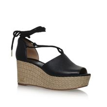 Michael Kors Hastings mid wedge sandals