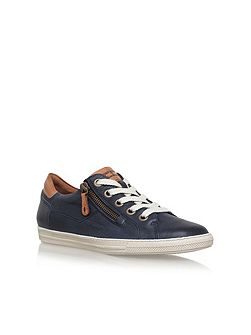 Amber lace up trainers